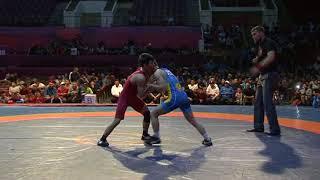 Спорт. Греко-римская борьба. Чемпионат Кыргызстана-2018. Часть 3