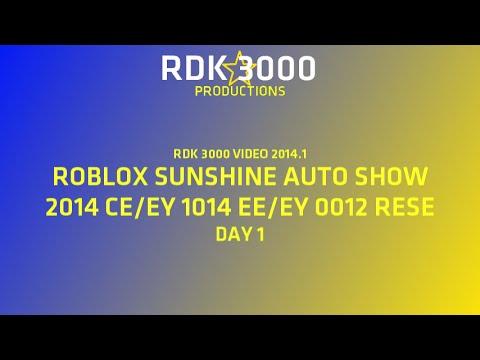 RDK 3000 VIDEO 2014.1: SAS 2014 PART 1 (ROBLOX) (READ DESCRIPTION)