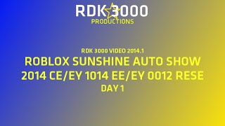 RDK 3000 VIDEO 2014.1: SAS 2014 PART 1 (ROBLOX) (READ DESCRIPTION)