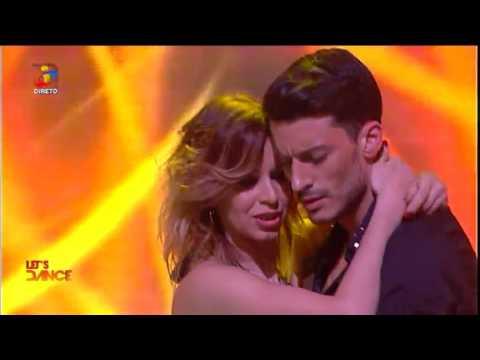 Iva Domingues e Ruben Rua dançam ao som de C4 Pedro