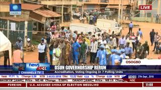 Osun Re-run: Update On Ongoing Osun Election Re-run