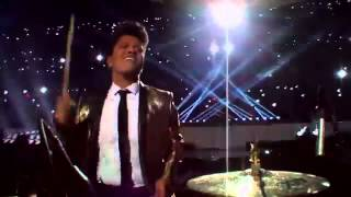 Bruno Mars Locked Out Of Heaven Super Bowl