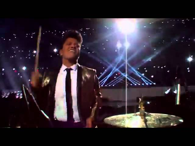 Bruno Mars - Locked Out Of Heaven - Super Bowl #1