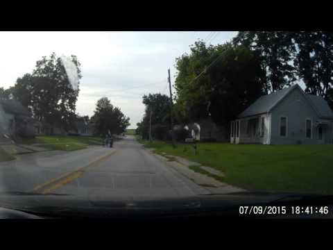 Sidewalk going to waste in Versailes, IL