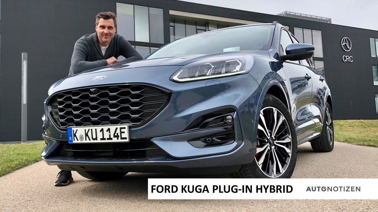 2020 Ford Kuga Phev Plug In Hybrid St Line X Review Test