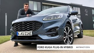 2020 Ford Kuga PHEV (Plug-in Hybrid) ST Line X: Review / Test Drive / English