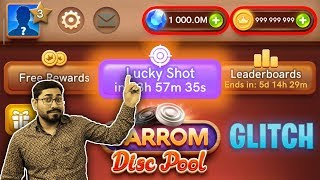 Carrom pool Unlimited Coins ||Unlimited coins and gems Lucky Shot kazigaming carrom pool mod  update screenshot 1