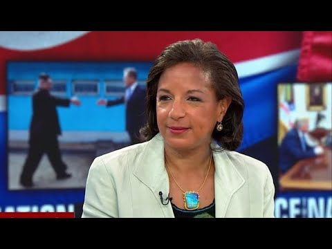 """Susan Rice slams Trump for """"disgraceful"""" Russia comments at G7"""
