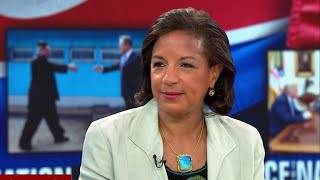 "Susan Rice slams Trump for ""disgraceful"" Russia comments at G7"