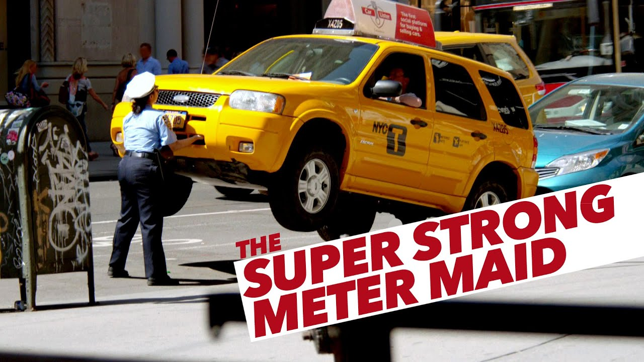 the super strong meter maid youtube. Black Bedroom Furniture Sets. Home Design Ideas