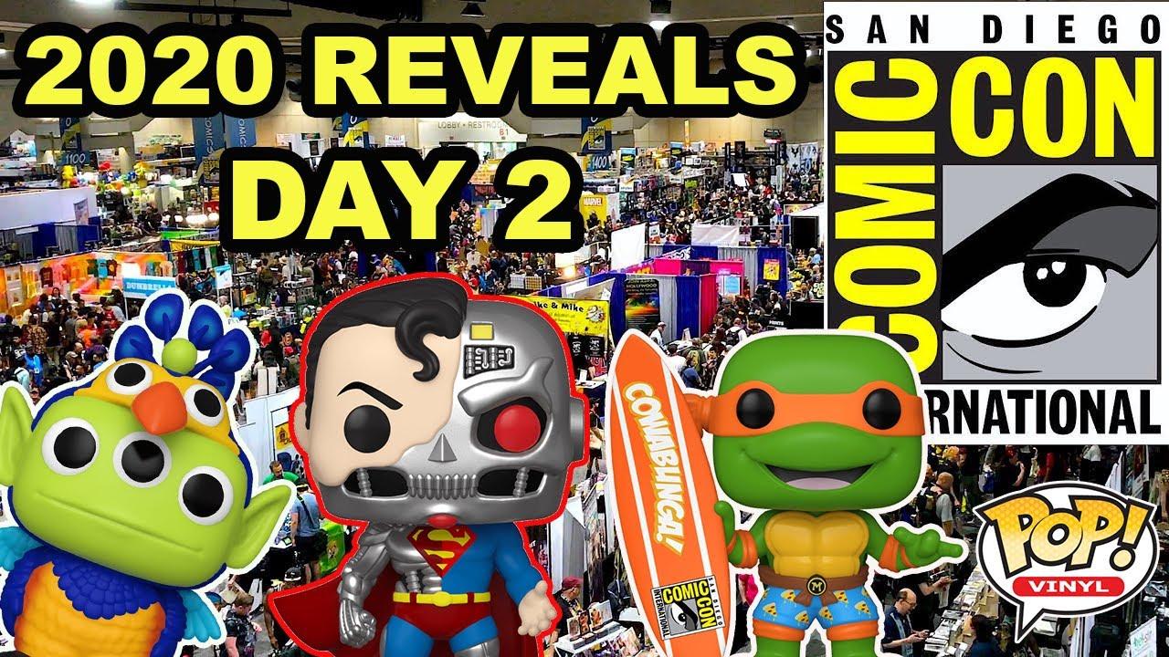 SDCC 2020 Funko Pop Reveals - Day 2