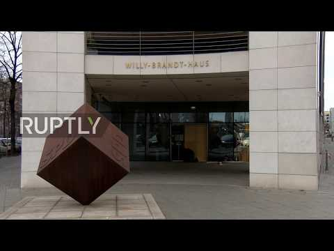 Germany: German driver crashes car into SPD HQ in failed suicide attempt