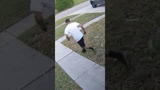 FedEx Guy Acting a Little Weird #Shorts