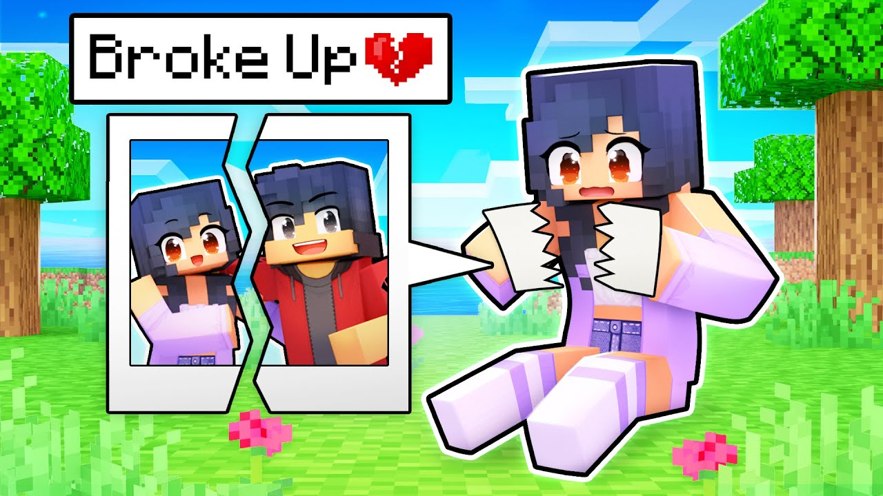 Download Aphmau BROKE UP in Minecraft!