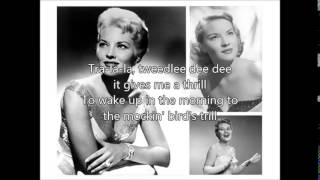 PATTI PAGE - Mockin Bird Hill(1951)with lyrics YouTube Videos