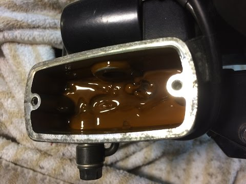 Brake Fluid Replacement: Honda Motorcycle