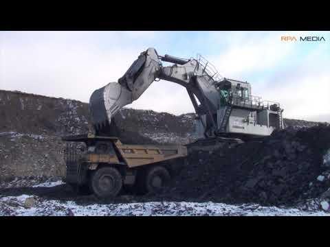 Liebherr R9350 Mining Backhoes