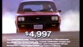 Chevrolet Chevette 1983 advertisement