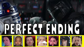 Reactions to Mando and Grogu Last Scene in The Mandolorian Season 2 Episode 16