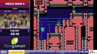 Mega Man 4 by Chelney in 40:19 - SGDQ2017 - Part 115