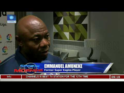 Emmanuel Amuneke Impressed With Current S/Eagles Squad Ahead Of 2018 W/Cup |Sports This Morning|