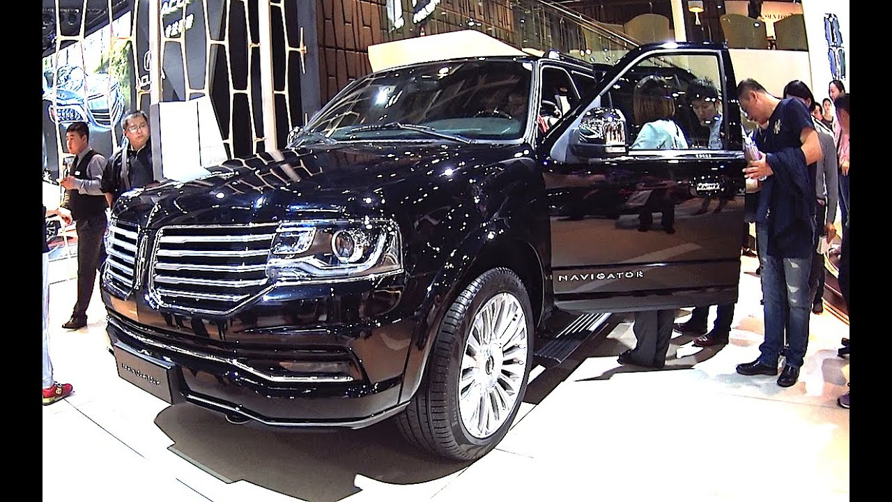 Luxury Vehicle: 2016, 2017 Lincoln Navigator Launched On Beijing Auto Show