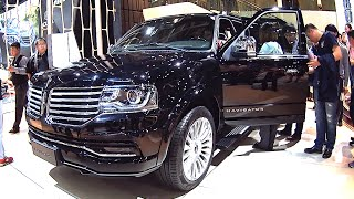 2016, 2017 Lincoln Navigator Launched On Beijing Auto Show, American made luxury SUV
