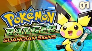 """PICHUUUUUUU!!!""   Pokémon Ranger: Guardian Signs w/ Twit! - EP 01"