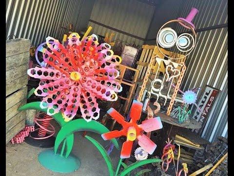 DIY Garden Art Ideas By Raymond Guest