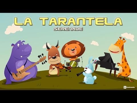 La Tarantela - Serenade, La Tarantela con Letra, Italian Folk Music Tarantella, Fiesta, Popular