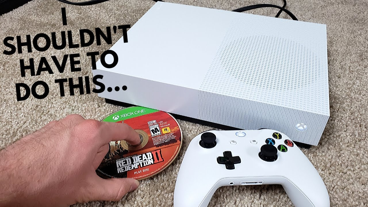 How To Play Game Discs On The Discless Xbox One S Youtube