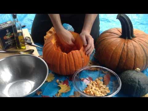 Pumpkin Seed Harvest & Roasting
