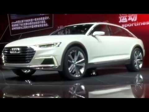 Audi at the Shanghai Auto Show 2015