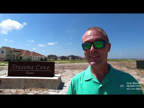 The difference between Trasona Cove East and Trasona Cove West in Viera, FL