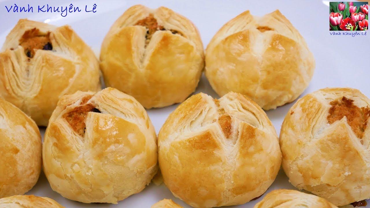 BÁNH TRUNG THU NGÀN LỚP NHÂN DỪA – Cách làm Bột Bánh và Nhân Dừa thơm lừng by Vanh Khuyen