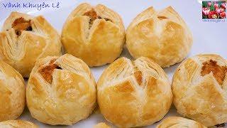 Bánh Trung Thu Ngàn Lớp nhân Dừa - Cách làm Bột Bánh và Nhân Dừa thơm lừng by Vanh Khuyen
