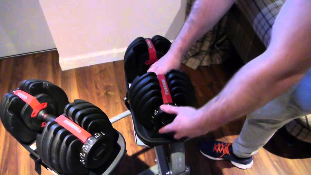 011a1827873 Adjustable Dumbbell Review - YouTube