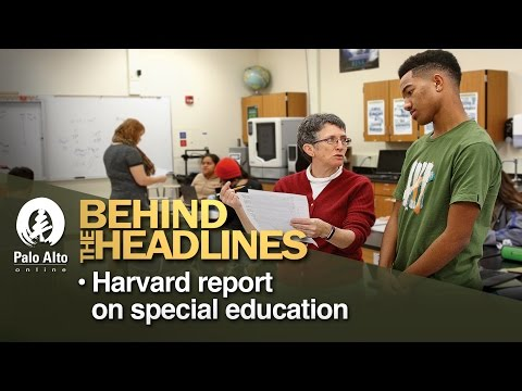 Behind The Headlines - Harvard Report on Special Education