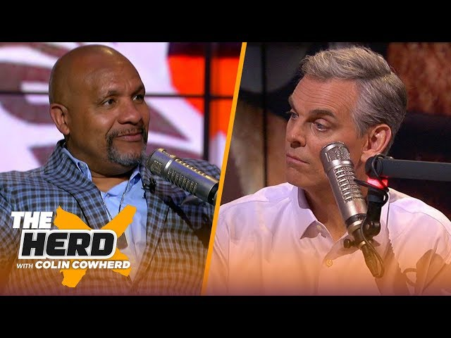 Hue Jackson talks Giants starting Daniel Jones, Browns offensive line and more | NFL | THE HERD