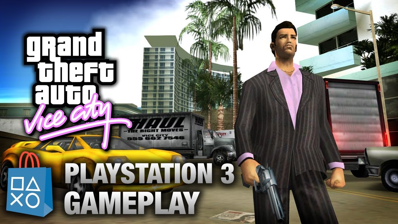 gta vice city playstation 3 gameplay psn youtube. Black Bedroom Furniture Sets. Home Design Ideas
