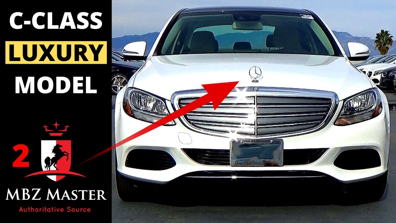 2017 Mercedes C Cl Visual Differences Part 2 Luxury Model