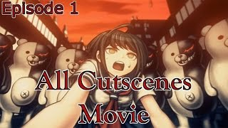 Danganronpa Another Episode: Ultra Despair Girls - All Cutscenes Movie - Episode 1 {English, HD}