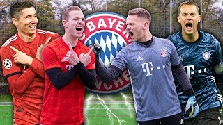 LEWANDOWSKI vs. NEUER: Football Challenges