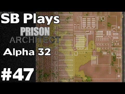 Prison #3 Layout (500-1000 Prisoner Capacity) - SB Plays Prison Architect (Alpha 32) ep47