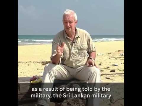 "Sri Lankan civil war – despite being designated as a so-called ""No Fire Zone"""
