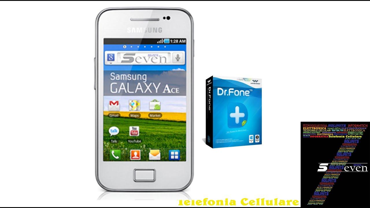 Recuperare Recupero Foto File Dal Telefono Samsung Youtube