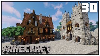 THE CITY TAVERN/INN!!! ► Episode 30 ► Minecraft 1.13.2 Survival Let's Play