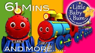 Little Baby Bum | Color Train Song | Nursery Rhymes for Babies | Songs for Kids