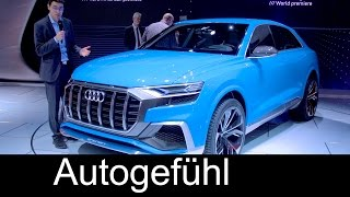 Audi Q8 Concept (Q7 SUV Coupé) Premiere Review @ NAIAS new neu - Autogefühl