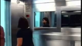 Scariest Video Ever! GHOST Child In Elevator - CANDID CAMERA